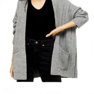 NWT Topshop open front cardigan